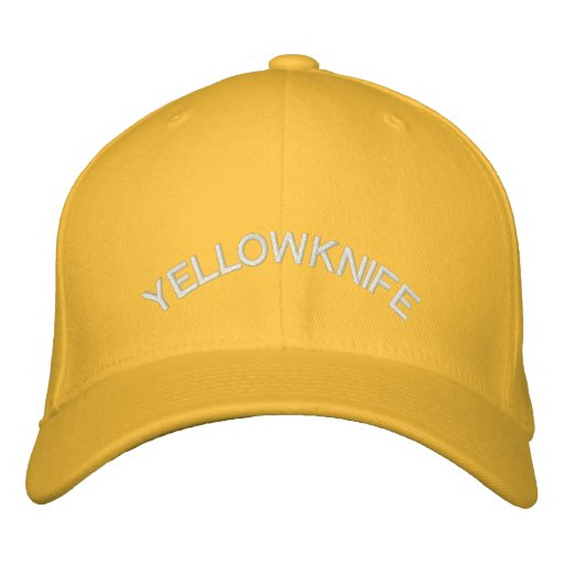 Yellowknife Baseball Cap Embroidered Canada Cap