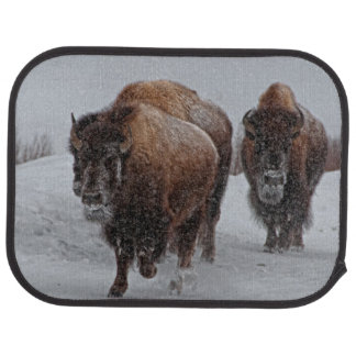 Yellowstone Bison Car Mat