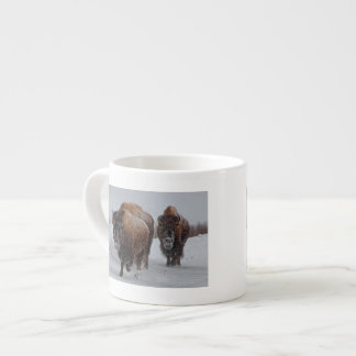 Yellowstone Bison Espresso Cup