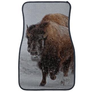 Yellowstone Bison Floor Mat