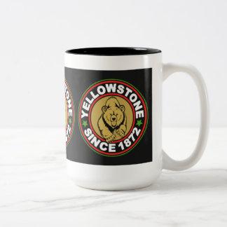 Yellowstone Black Circle Two-Tone Mug