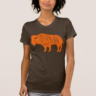 Yellowstone Buffalo Orange T-Shirt