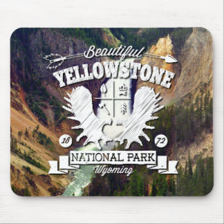 Yellowstone Camper Mouse Pad