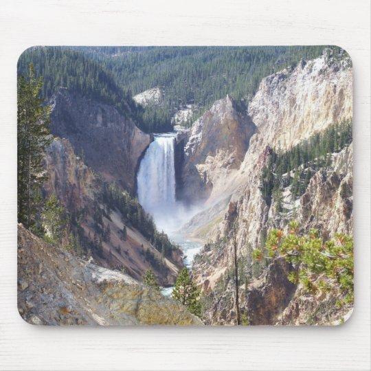 Yellowstone canyon mouse mat