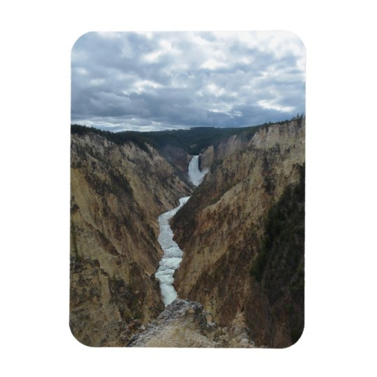 Yellowstone Falls photo magnet