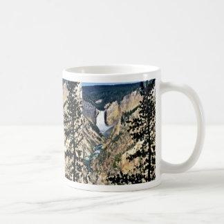 Yellowstone Falls - Yellowstone National Park Coffee Mug