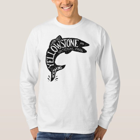 Yellowstone Fishing T-Shirt