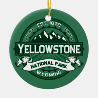 Yellowstone Forest Christmas Ornament