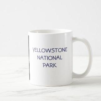 Yellowstone Geyser Basic White Mug