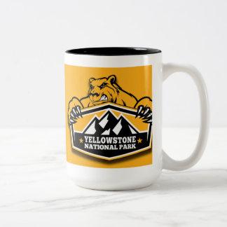 Yellowstone Gold Bear Mug