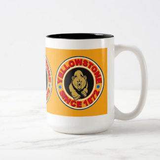 Yellowstone Gold Circle Two-Tone Mug