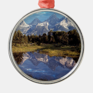 Yellowstone Grand Teton Reflections Christmas Ornament
