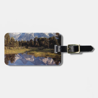 Yellowstone Grand Teton Reflections Luggage Tag