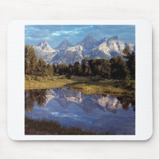 Yellowstone Grand Teton Reflections Mouse Pads