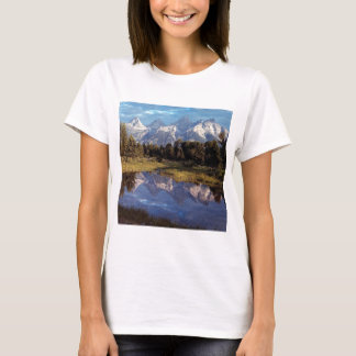 Yellowstone Grand Teton Reflections T-Shirt