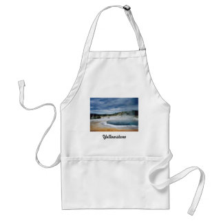Yellowstone Hot Springs Adult Apron