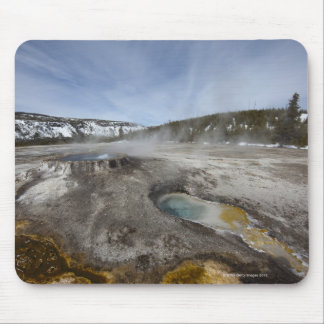 Yellowstone is famous for its geothermal mouse pad