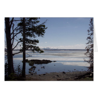 Yellowstone Lake Card