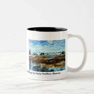 Yellowstone Lake in Winter Mug