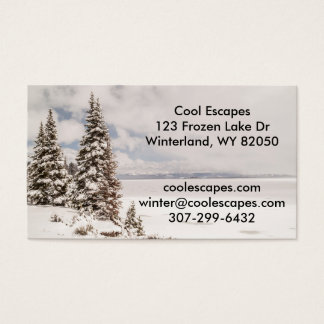 Yellowstone Lake in Yellowstone National Park Business Card