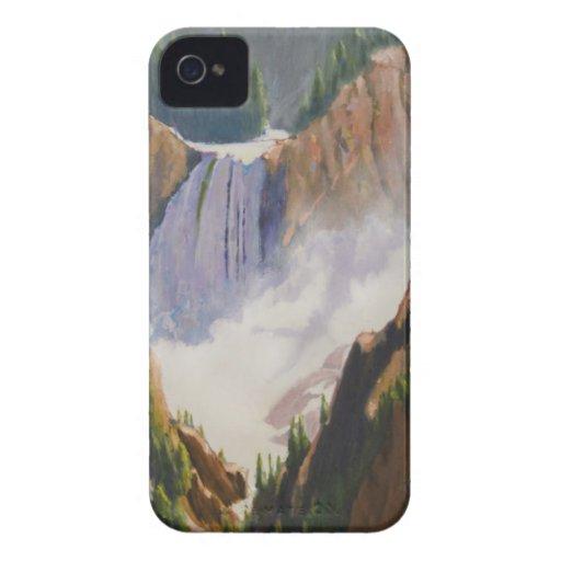 Yellowstone Lower Falls iPhone 4 Case