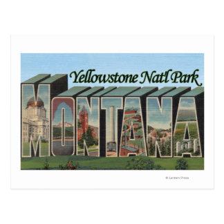 Yellowstone Nat l Park Montana Post Card
