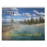 Yellowstone National Park 2014 Calendar