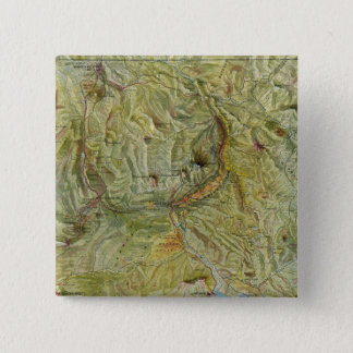 Yellowstone National Park 2 15 Cm Square Badge