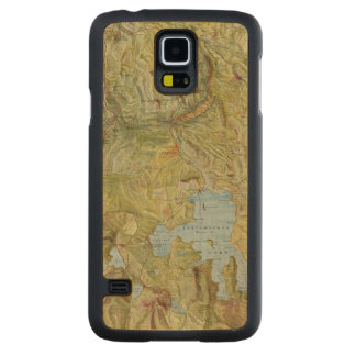 Yellowstone National Park 2 Carved Maple Galaxy S5 Case