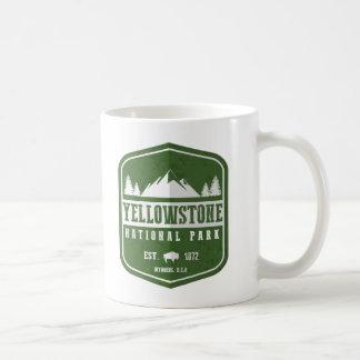 Yellowstone National Park Basic White Mug