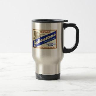 Yellowstone National Park (Buffalo) 15 Oz Stainless Steel Travel Mug