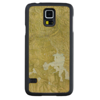 Yellowstone National Park Carved Maple Galaxy S5 Case