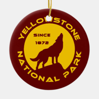 Yellowstone National Park Christmas Ornament