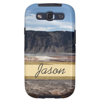 Yellowstone National Park hot spring land Galaxy SIII Covers