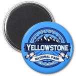 Yellowstone National Park Logo 6 Cm Round Magnet
