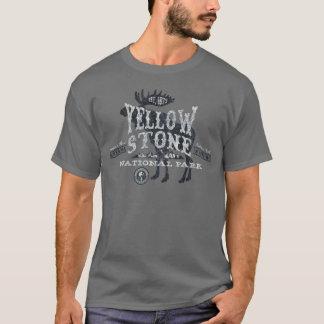 Yellowstone National Park Moose T-Shirt grey