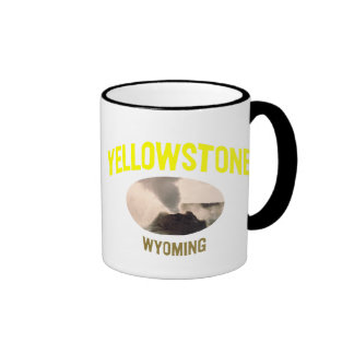 Yellowstone National Park Ringer Coffee Mug
