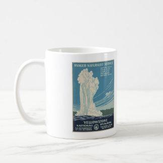Yellowstone National Park Old Faithful Poster Mug