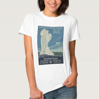Yellowstone National Park Old Faithful Shirts