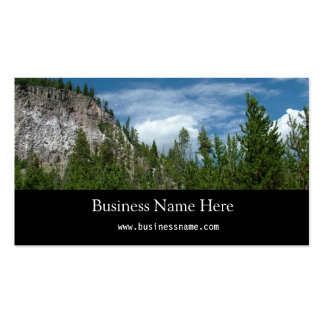 Yellowstone National Park Pack Of Standard Business Cards