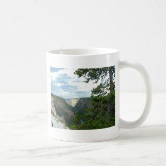 Yellowstone national park photography basic white mug