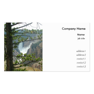 Yellowstone national park photography pack of standard business cards