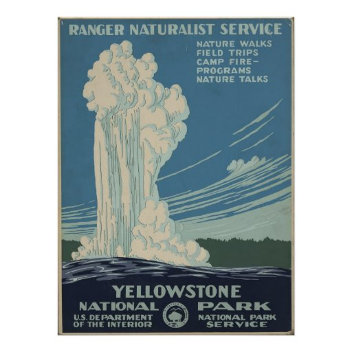 Yellowstone National Park Posters