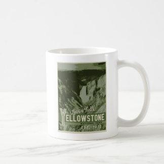 Yellowstone National Park Poster Mug