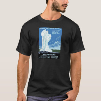 Yellowstone National Park poster T-Shirt