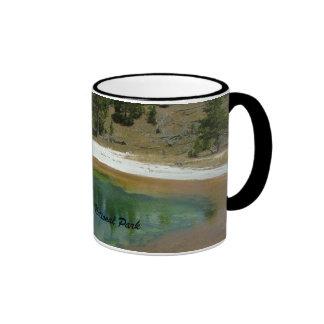 Yellowstone National Park Ringer Mug