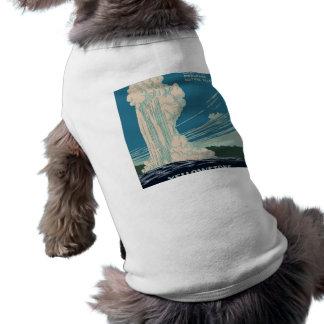 Yellowstone National Park Sleeveless Dog Shirt