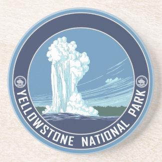 Yellowstone National Park Souvenir Drink Coasters