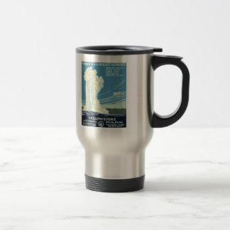 Yellowstone National Park Stainless Steel Travel Mug