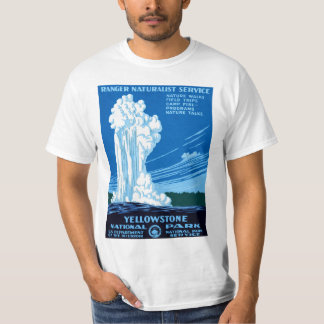 Yellowstone National Park Tee Shirts